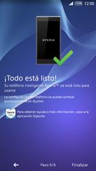 Activa el equipo - Sony Xperia Z2 D6503 - Passo 11