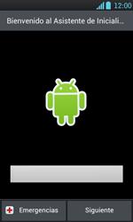 Activa el equipo - LG Optimus L7 - Passo 5
