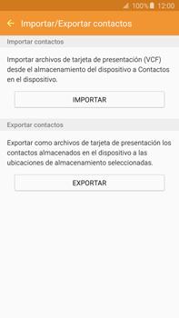 ¿Tu equipo puede copiar contactos a la SIM card? - Samsung Galaxy Note 5 - N920 - Passo 7