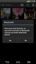 Transferir fotos vía Bluetooth - LG G Flex - Passo 9