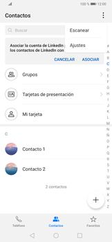 ¿Tu equipo puede copiar contactos a la SIM card? - Huawei P30 - Passo 6