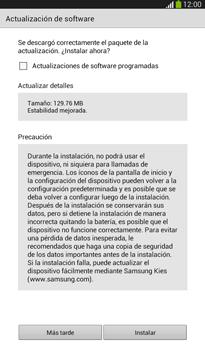 Actualiza el software del equipo - Samsung Galaxy Tab 3 7.0 - Passo 7