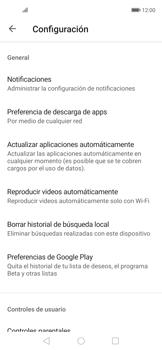 Cambiar configuración de actualizaciones de aplicaciones - Huawei Nova 5T - Passo 4