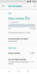 Desactiva tu conexión de datos - Motorola Moto E5 Play - Passo 7