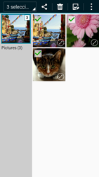 Transferir fotos vía Bluetooth - Samsung Galaxy A3 - A300M - Passo 11