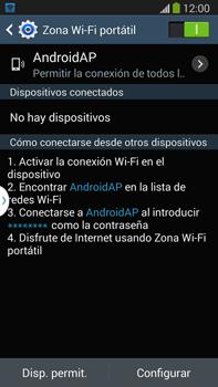 Configura el hotspot móvil - Samsung Galaxy Note Neo III - N7505 - Passo 11