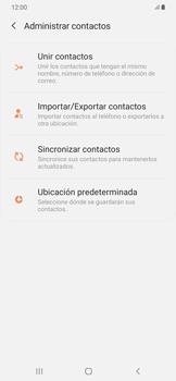 ¿Tu equipo puede copiar contactos a la SIM card? - Samsung Galaxy A50 - Passo 6