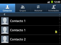 ¿Tu equipo puede copiar contactos a la SIM card? - Samsung Galaxy Y Pro GT - B5510 - Passo 9