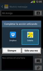 Envía fotos, videos y audio por mensaje de texto - Samsung Galaxy Trend Plus S7580 - Passo 15