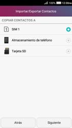 ¿Tu equipo puede copiar contactos a la SIM card? - Huawei Y3 II - Passo 7