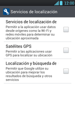 Uso de la navegación GPS - LG Optimus L7 - Passo 5