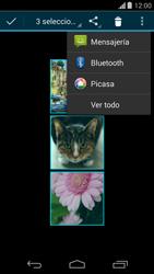 Transferir fotos vía Bluetooth - Motorola Moto G - Passo 9