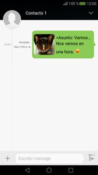 Envía fotos, videos y audio por mensaje de texto - Huawei Mate S - Passo 18