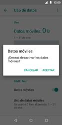 Desactiva tu conexión de datos - Motorola Moto E5 Play - Passo 6