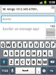 Envía fotos, videos y audio por mensaje de texto - Samsung Galaxy Y  GT - S5360 - Passo 9