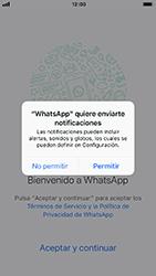 Configuración de Whatsapp - Apple iPhone 8 - Passo 5