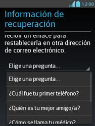 Crea una cuenta - LG Optimus L3 II - Passo 13