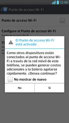 Configura el hotspot móvil - LG Optimus G Pro Lite - Passo 10