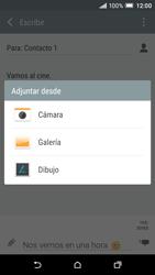 Envía fotos, videos y audio por mensaje de texto - HTC One A9 - Passo 15