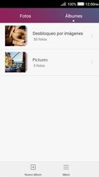Transferir fotos vía Bluetooth - Huawei Y3 II - Passo 5