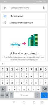 Uso de la navegación GPS - Huawei Mate 20 Pro - Passo 13