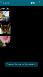 Transferir fotos vía Bluetooth - Samsung Galaxy Alpha - G850 - Passo 11