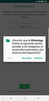 Configuración de Whatsapp - Samsung Galaxy Note 8 - Passo 6