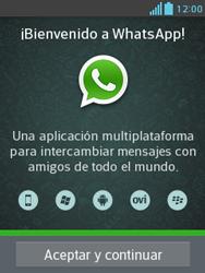 Configuración de Whatsapp - LG Optimus L3 II - Passo 4