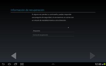 Crea una cuenta - Samsung Galaxy Note 10-1 - N8000 - Passo 15