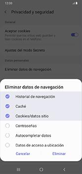 Limpieza de explorador - Samsung Galaxy A10 - Passo 10