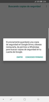 Configuración de Whatsapp - Samsung Galaxy S9 Plus - Passo 12