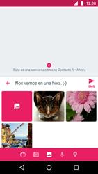 Envía fotos, videos y audio por mensaje de texto - Motorola Moto G5 - Passo 11