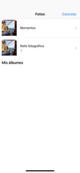 Envía fotos, videos y audio por mensaje de texto - Apple iPhone XS - Passo 9