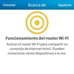 Configura el hotspot móvil - BlackBerry Q5 - Passo 6