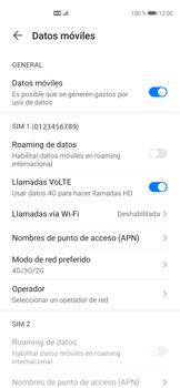 Cómo hacer una llamada por VoLTE - Huawei P40 - Passo 6