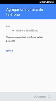 Crea una cuenta - Samsung Galaxy J7 Prime - Passo 13