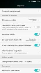 Desbloqueo del equipo por medio del patrón - Huawei G Play Mini - Passo 14