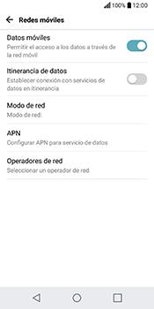Configura el Internet - LG Q6 - Passo 6