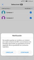 ¿Tu equipo puede copiar contactos a la SIM card? - Huawei P9 Lite 2017 - Passo 8