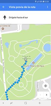 Uso de la navegación GPS - Samsung Galaxy Note 8 - Passo 17