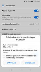 Conecta con otro dispositivo Bluetooth - Huawei P10 - Passo 6