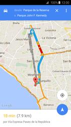 Uso de la navegación GPS - Samsung Galaxy S6 - G920 - Passo 13
