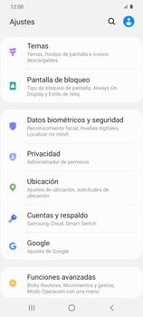 Habilitar seguridad de huella digital - Samsung Galaxy S20 - Passo 3