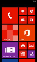 Inserta una tarjeta de memoria - Nokia Lumia 625 - Passo 1
