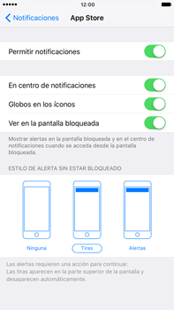 Personalizar notificaciones - Apple iPhone 7 Plus - Passo 5