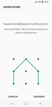 Desbloqueo del equipo por medio del patrón - Samsung Galaxy S8 - Passo 10