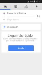 Uso de la navegación GPS - Samsung Galaxy Alpha - G850 - Passo 10