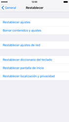 Restaura la configuración de fábrica - Apple iPhone 6s - Passo 5