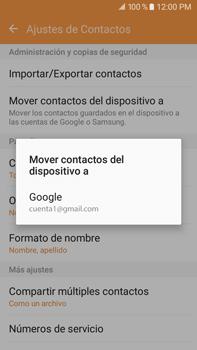 Sincronizar contactos con una cuenta Gmail - Samsung Galaxy J7 2016 (J710) - Passo 9