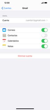 Sincronizar contactos con una cuenta Gmail - Apple iPhone 11 - Passo 5